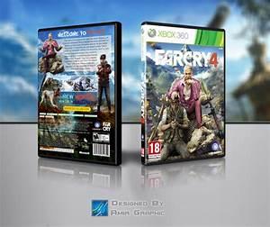 Far Cry 4 XBOX 360 COVER Xbox 360 Box Art Cover by amir ...