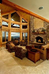 Log Home Interiors | Yellowstone Log Homes