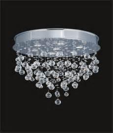Rectangular Crystal Chandelier Dining Room