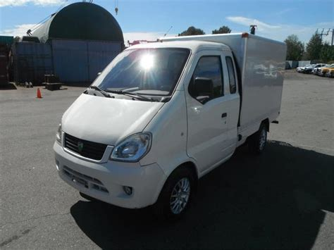2009 Mc Electric All Electric Power Cargo Van Outside