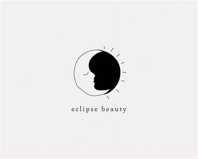 Moon Sun Minimalist Minimal Hand Drawn Eclipse