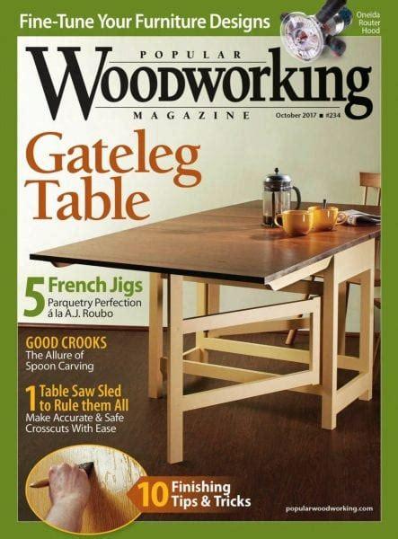 popular woodworking october
