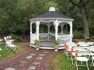Outside gazebo wedding decoration ideas Outdoor