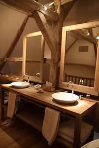 Caillebotis Bois Salle De Bain : 25 salles de bains en bois zen relax ~ Premium-room.com Idées de Décoration