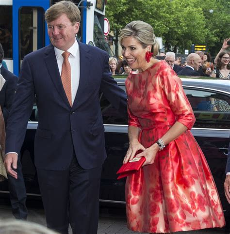 King Willem Alexander Queen Maxima Opens Holland