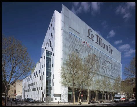le monde paris building hq  architect