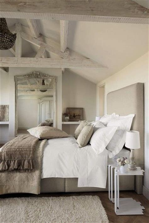 Tan + White Master Bedroom  Following Friends
