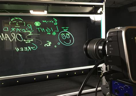 Expanding Course Video Possibilities With The Lightboard