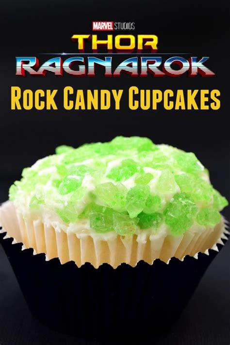 thor ragna rock candy cupcakes submit  thor ragnarok
