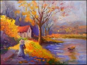 French Impressionist Paintings Umbrella