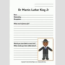 Mlk Day Worksheets