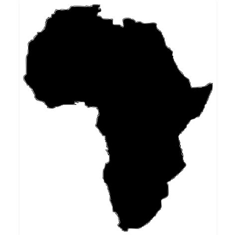More images for african american svg websites » Africa Silhouette PNG, SVG Clip art for Web - Download ...
