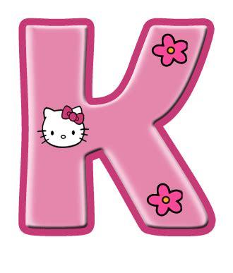 the kitty letter hello kitty letter k hello kitty