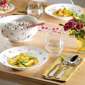 Villeroy Und Boch Auflaufform : villeroy und boch petite fleur porzellan mit streublumen dekor ~ Whattoseeinmadrid.com Haus und Dekorationen