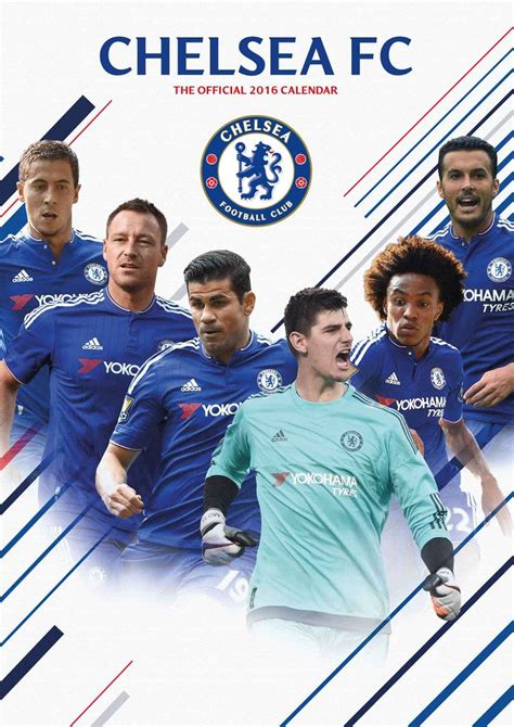 chelsea fc calendars europosters