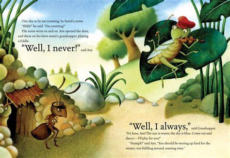 ant and grasshopper book by luli gray giuliano ferri