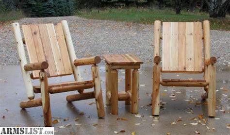 armslist for sale rustic log furniture