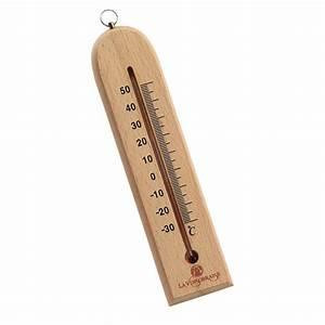 Thermometre Four A Bois : thermom tre bois ~ Dailycaller-alerts.com Idées de Décoration