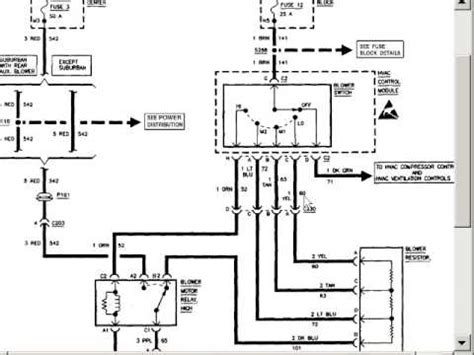 91 95 Isuzu Rodeo Radio Wiring Diagram by Blower Motor Problems Auto Repair Help