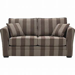malton striped sofa bed chocolate mocha at homebase With striped sofa bed