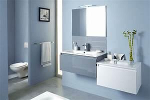 Couleur Salle De Bain : couleur tendance salle de bain 2016 r novation salle de ~ Dailycaller-alerts.com Idées de Décoration
