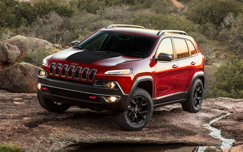 2014 Jeep Cherokee Trailhawk Front View 205777 Photo 9