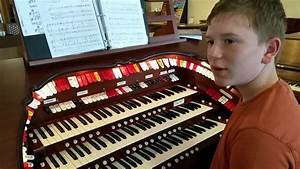 Young Theater Organist - YouTube