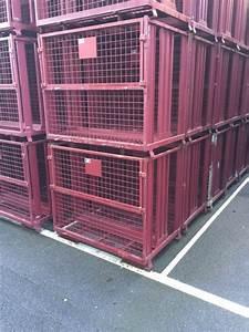 Caisse Palette Métallique : cms51 produits caisses palettes grillagees ~ Edinachiropracticcenter.com Idées de Décoration
