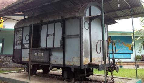 mengulik sejarah gerbong maut  museum brawijaya malang
