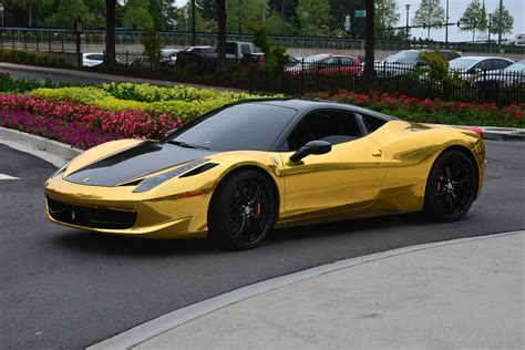 gold ferrari black and gold ferrari 30 hd wallpaper hdblackwallpaper com