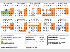 Calendario escolar Navarra 20172018 Calendario lectivo