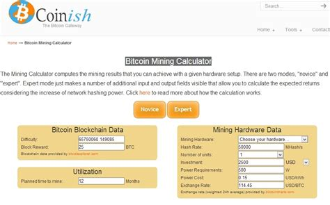 bitcoin mining roi calculator bitcoin mining calculator bitcoin machine winnipeg