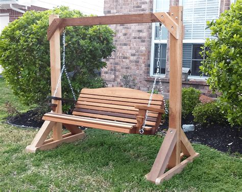 Free Diy Furniture Plans How Simple Tips To Build Diy Wood Porch Swing Frame Plans