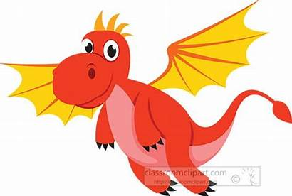 Dragon Clipart Flying Fantasy Winged Clip Transparent