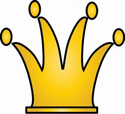 Crown Clipart King Clip Yellow Domain Royalty