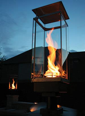 helix torch grand effects fire water features