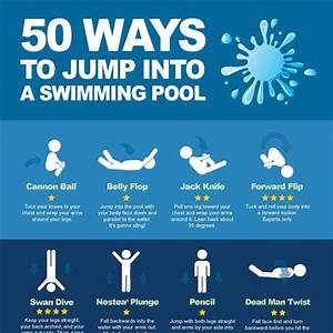 50 Ways To Jump Into A Swimming Pool