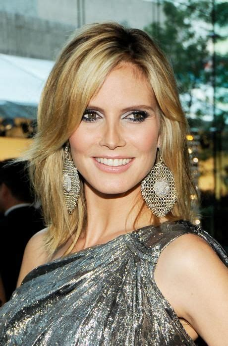 view heidi klum s hairstyles browse through pictures of