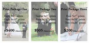 Wedding packages dragancaor creative for Wedding photo print packages