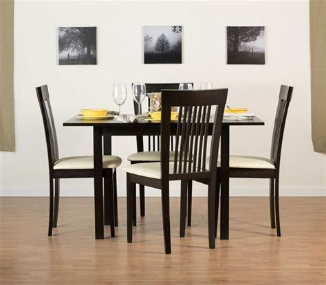 flex extendable table set with hartford dining chairs in