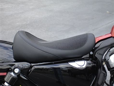 Custom Solo Seat For The Sportster Forty-eight
