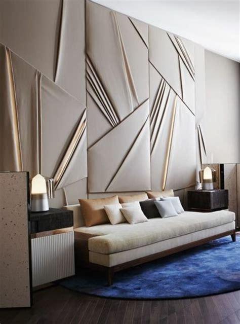 panneau mural chambre le panneau mural 3d un luxe facile à avoir archzine fr