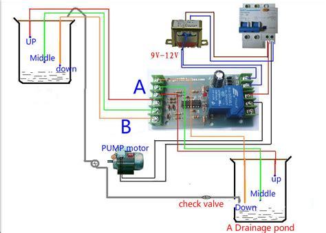 A C Float Switch Wiring Diagram Free Picture by Buy Dc 12v Liquid Level Controller Water Level Detection