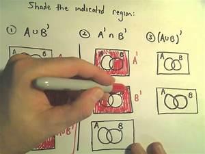 Venn Diagrams  Shading Regions For Two Sets