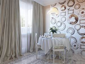 plate wallpaper dining decor