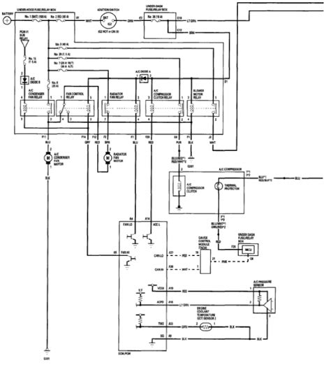1995 Honda Accord Ac Wiring Diagram by Honda A C Intermittent Problem Ericthecarguy