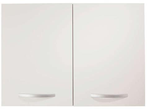 meuble haut de cuisine conforama meuble haut 80 cm 2 portes spoon coloris blanc vente de