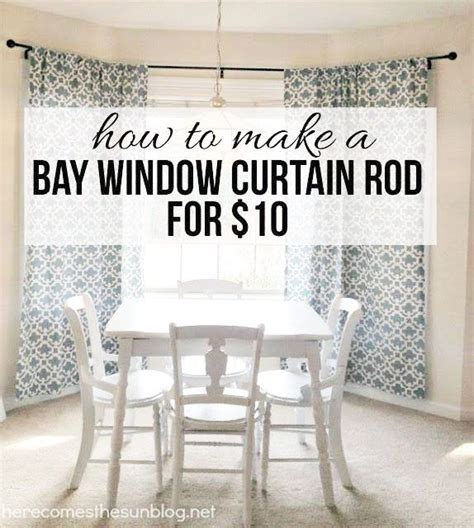 Sheer Curtains For Traverse Rods by 25 Best Ideas About Bay Window Curtains On Pinterest