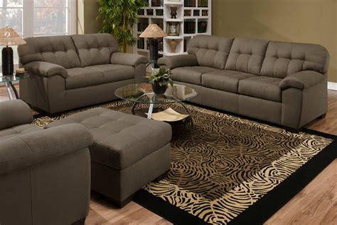 Global Furniture Usa 9558 Sofa Set Micro Fabric