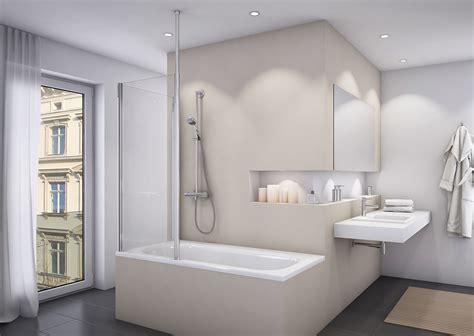 Badewannenaufsatz Mit Seitenwand Duschabtrennung Dusche